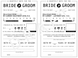 bridal mad libs as you live it wedding mad libs