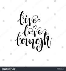 live love laugh phrase card valentines stock vector 560467150