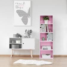 Purple Bookcase Altra Furniture Mia Kids 4 Shelf Bookcase In White 9627196 The