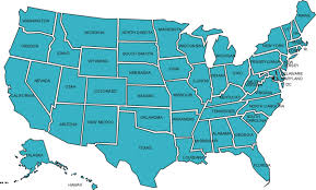 Blank Map Southeast States by Outline Map Of Usa Without State Names Lightningpicscom Filemap