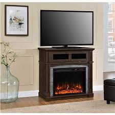 Electric Fireplace Tv Stand Ameriwood Furniture Thompson Place Electric Fireplace Tv Stand