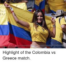 Colombia Meme - pale highlight of the colombia vs greece match soccer meme on sizzle