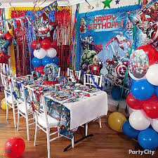 Party City Balloons For Baby Shower - avengers balloon column how to party city