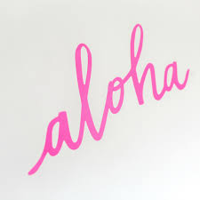 party banner aloha party banner tropical luau moana party hawiian party uk