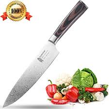 best home kitchen knives amazon com tartek japanese chef knife high carbon stainless steel