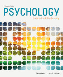 psychology modules for active learning 13th edition