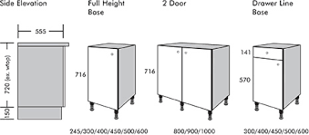 what is the standard size for base kitchen cabinets kitchen unit dimensions k2 kitchens interiors