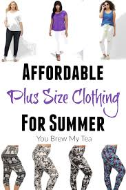 affordable plus size clothing for summer