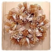 white deco mesh st louis rams gold blue deco mesh wreath 85 00 crafts