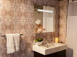 wallpaper in bathroom ideas mid century modern bathroom wallpaper on with hd resolution mid