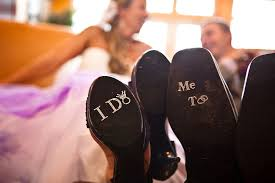 wedding shoes help me i do shoe stickers with diamond ring me groom stickers