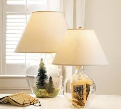 glass fillable lamp ideas table lamps wood lamps fillable lamp