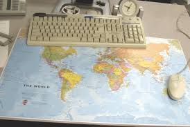 map pad map desk pad and mouse pad