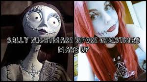 Nightmare Before Christmas Halloween Makeup by Diy How To Do Sally Nightmare Before Christmas Make Up Youtube