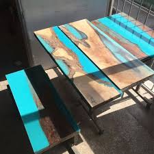 Epoxy Table Top Ideas by 95 Best Inlay Images On Pinterest Resin Coffee Tables And Resin Art