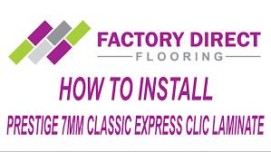 Easy Clic Laminate Flooring How To Install 7mm Prestige Classic Express Clic Laminate Flooring