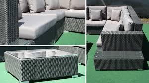 canape angle exterieur salon jardin resine canape angle idées de décoration capreol us