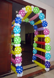 Balloon Decoration Ideas For Birthday Party At Home For Husband Balloon Decorations Without Helium Smart Since There Is A Global
