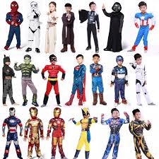 kids halloween cartoon online get cheap superhero halloween costumes for kids aliexpress