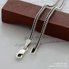 silver necklace chain lengths images 925 sterling silver necklace thick 1 6 mm fox tails snake chain jpg