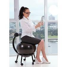 ballon chaise de bureau chaise ballon de purathletics wte10441 noir ballons de