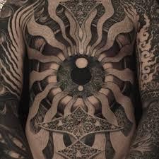 tribal torso tattoos front piece and arms collaboration jondix and filip leu torso