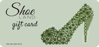 shoe land gift cards for birthdays christmas or any occasion
