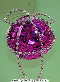 special ornaments with sequins