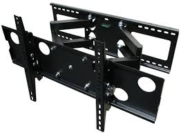 Triple Monitor Wall Mount Mount It Dual Articulating Arm Universal Wall Mount For 32