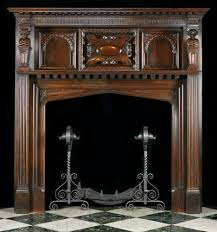 antique fireplace mantel decor all home decorations