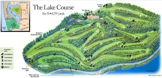 map us open map of olympic club lake course site of 2012 u s open a walk