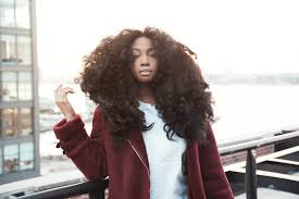 why sza u0027s huge natural hair is our new obsession u2014 vogue vogue