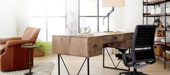 Home Office Writing Desks by Home Office Furniture Crate And Barrel