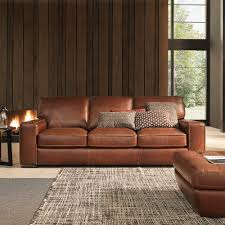 Contemporary Living Room Furniture Campbell Sofa Leather Haynes Living Rooms Pinterest Sofa