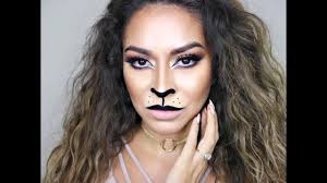 Halloween Makeup Pictures by Lion Makeup Tutorial Cat Halloween Makeup Tutorial Youtube
