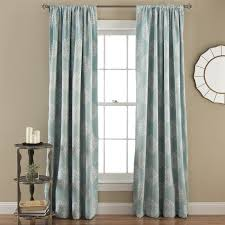 Blackout Window Curtains Three Posts Cowden Rod Pocket Thermal Blackout Curtain Panels