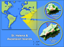 ascension islands map aboutdarwin beagle voyage