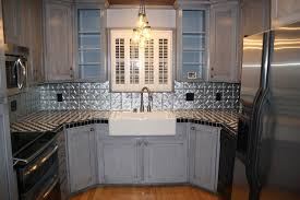 metal backsplash for kitchen tin kitchen backsplash home designs idea