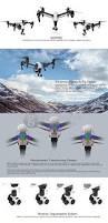 dji inspire 1 all in one flying platform 4k camera hd aircraft