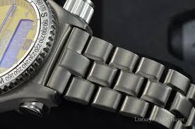breitling titanium bracelet images Mens breitling emergency titanium pro i bracelet yellow dial watch jpg