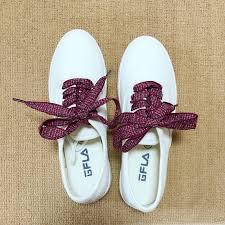 ribbon shoe laces online shop 120cm 47 of flat fashion checkered ribbon