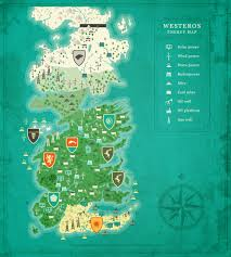 Map Of Essos Energy Map Of Westeros Shows Who Is The Strongest