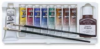 winsor u0026 newton winton oil colors blick art materials
