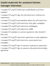 Kitchen Manager Resume Examples by Kitchen Manager Job Description
