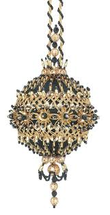 262 best ornaments beaded ball images on pinterest beaded