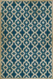 district17 the blue mosque vinyl floorcloth patterned rugs