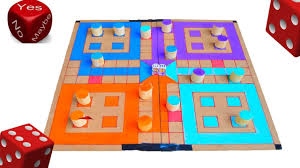 diy indoor games how to make ludo star game at home amazing diy youtube