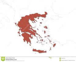 Greek Map Greek Map Royalty Free Stock Photos Image 14301078