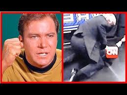 Kirk Meme - captain kirk meets cnn liberal bias cnn defeated by trump