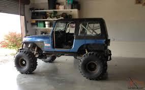 jeep 1989 jeep wrangler rock crawler mud truck
